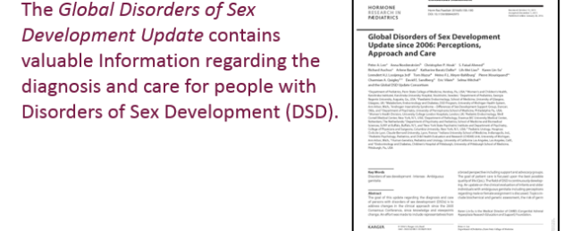Approach to disorders of sexual development